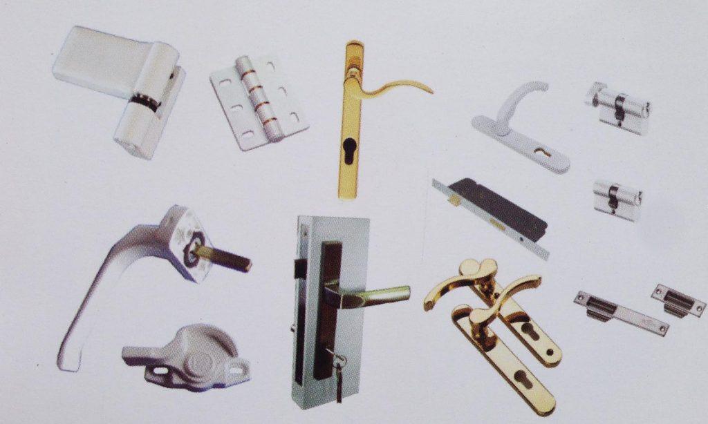 phụ kiện cửa nhựa lõi thép chất lượng